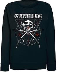 Женский свитшот Emmure - Spider (чёрный)