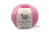 Gazzal Baby Cotton, Розовый №3468