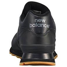 Кроссовки мужские new balance 574bab (черные), фото 3