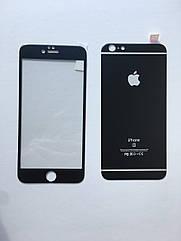 Защитное стекло 3D Full Screen iPhone 6 Plus/6s Plus - черный (Комплект back+front)