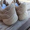 Бежеві сірі Adidas Yeezy 500 еко - замша |КОПІЯ| жіночі кросівки адідас ізі 500 \ розміри: 36-39, фото 2