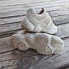 Бежеві сірі Adidas Yeezy 500 еко - замша |КОПІЯ| жіночі кросівки адідас ізі 500 \ розміри: 36-39, фото 4