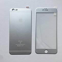 Защитное стекло 3D Full Screen iPhone 6 Plus/6s Plus - белый (Комплект back+front)