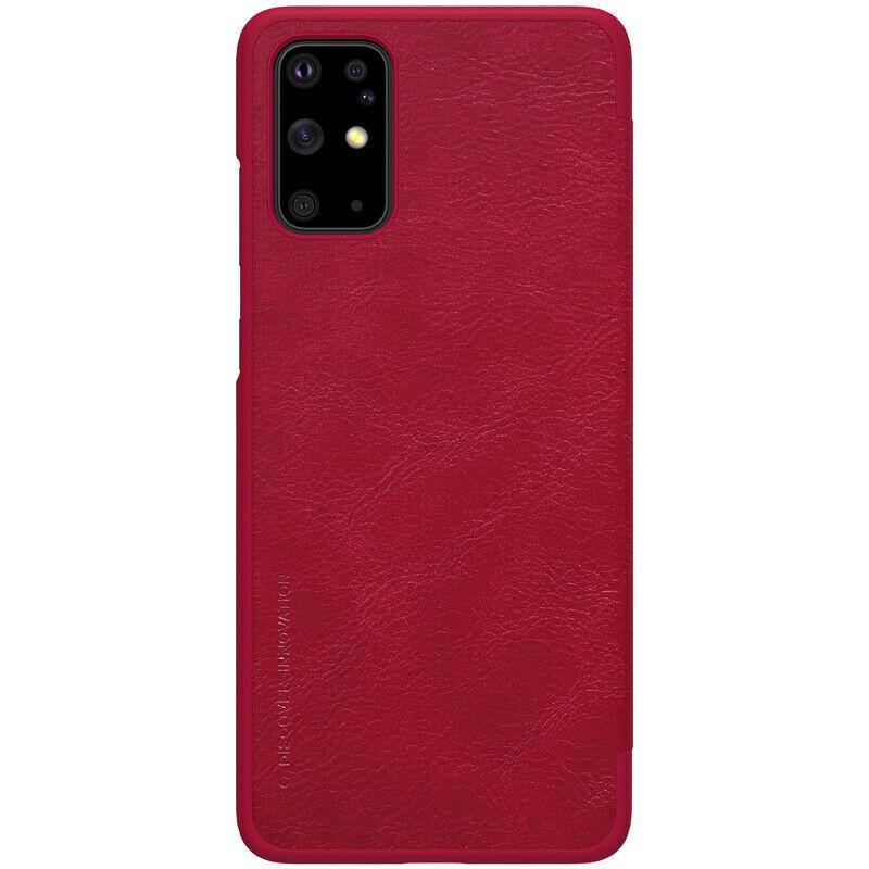 Nillkin Samsung Galaxy S20+ Qin leather Red case Кожаный Чехол Книжка