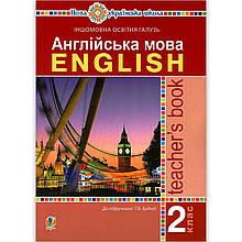 Книга для вчителя Англійська мова 2 клас НУШ Авт: Будна Т. Вид: Богдан