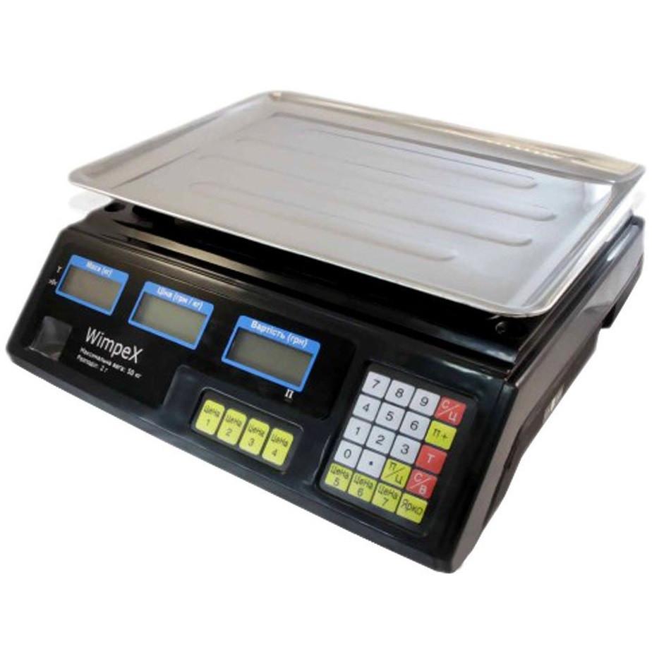 Торговые весы Wimpex Scales (50 кг)  4v