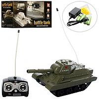 Танк 3886 на радиоуправлении (аккумулятор, ездит, стреляет пульками)