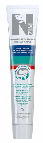 Зубная паста N-zim с маслом чайного дерева, 75 мл
