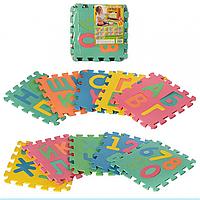Детский развивающий коврик-пазл Мозаика M 2736