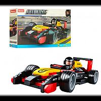 Конструктор SLUBAN гоночная машина, фигурка, 120дет