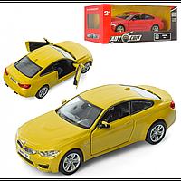 Машинка BMW M4 (Желтая)