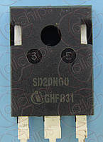 MOSFET N-канал 600В 20А Infineon SD20N60 TO3P