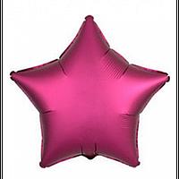 """Фольгована зірка """"18"""" (45см) фіолетовий"""