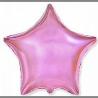"""Фольгована зірка """"18"""" (45см) темно рожевий"""