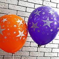 """Латексна кулька """"13"""" (зірка)"""