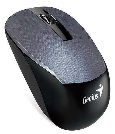 Мышка Genius NX-7015 Wireless Беспроводная Черный / Серый, фото 2