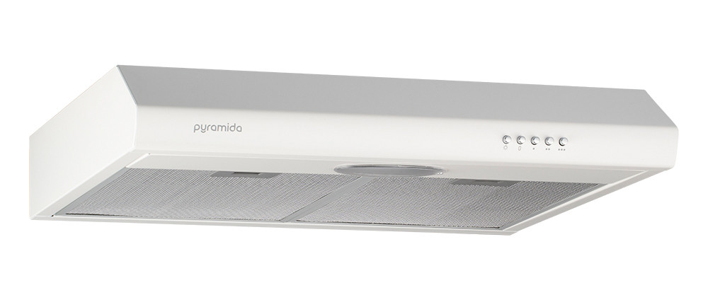Вытяжка PYRAMIDA UX 50 WH Плоская Белый