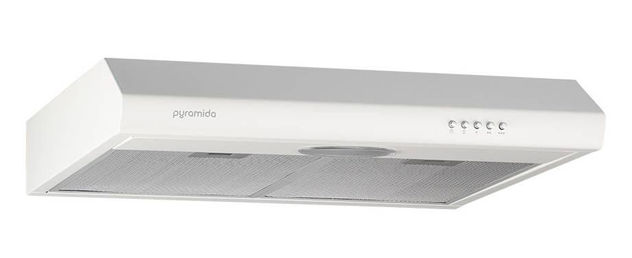 Вытяжка PYRAMIDA UX 50 WH Плоская Белый, фото 2