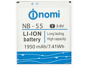 Аккумулятор (Батарея) для Nomi NB-55 i505 Jet (1950 mAh) Оригинал
