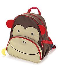 Детский рюкзак Skip Hop Zoo Pack (Zoo Little Kid Backpack) - Monkey (Обезьяна), 3+