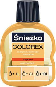 Универсальный краситель кремовый Colorex №60 Sniezka (Пигмент колер снежка)