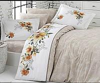 Комплект постельного белья Deluxe Ranforce JanetFirst Choice Евро размер