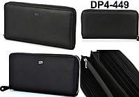 Кошелек, портмоне, бумажник из натуральной кожи, черный Dupont