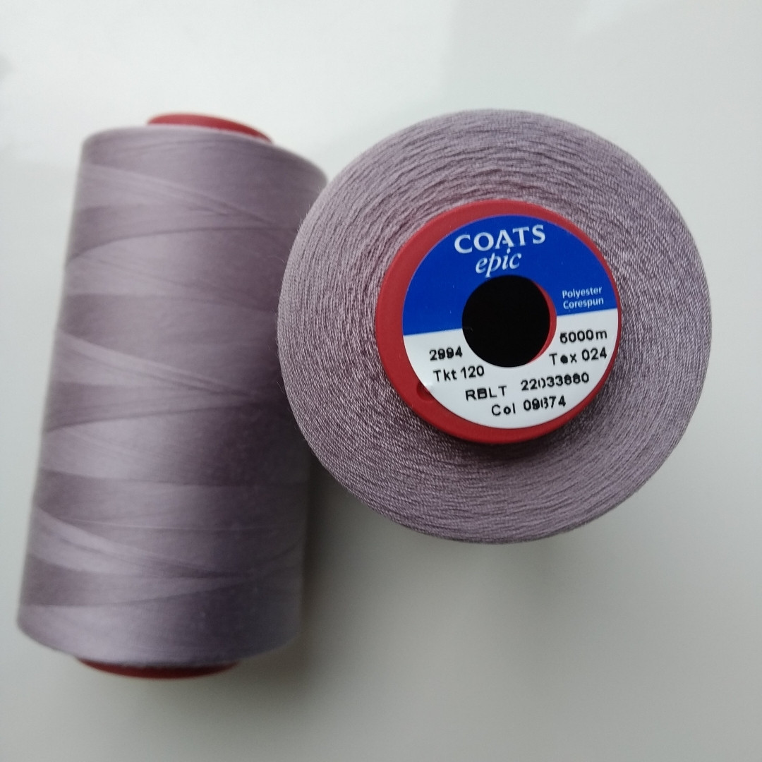 Нитки Coats Epic 09674/ 120 / 5000м