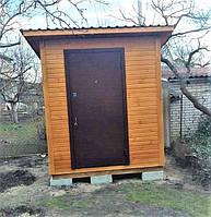 Деревянный хозблок бытовка от производителя в Киеве