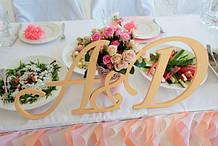 Герб весільний, ініціали на весілля