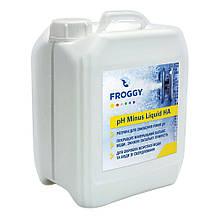 """Жидкость для понижения уровня pH Froggy """"pH-minus Liquid HA"""" 20 л (соляная кислота 10%)"""