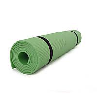 Коврик (каремат) для йоги, фитнеса и спорта OSPORT Аэробика Зеленый (FI-0078)