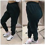 Женские стильные брюки штаны с карманами на резинке вельвет размер: 42, 44, 46, 48, фото 5