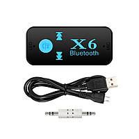 Беспроводной адаптер Bluetooth приемник аудио ресивер BT-X6 TF card 130670