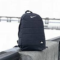 Рюкзак Nike Air Gray для занятий спортом качественный стильный портфель Найк серого цвета сумка серый меланж