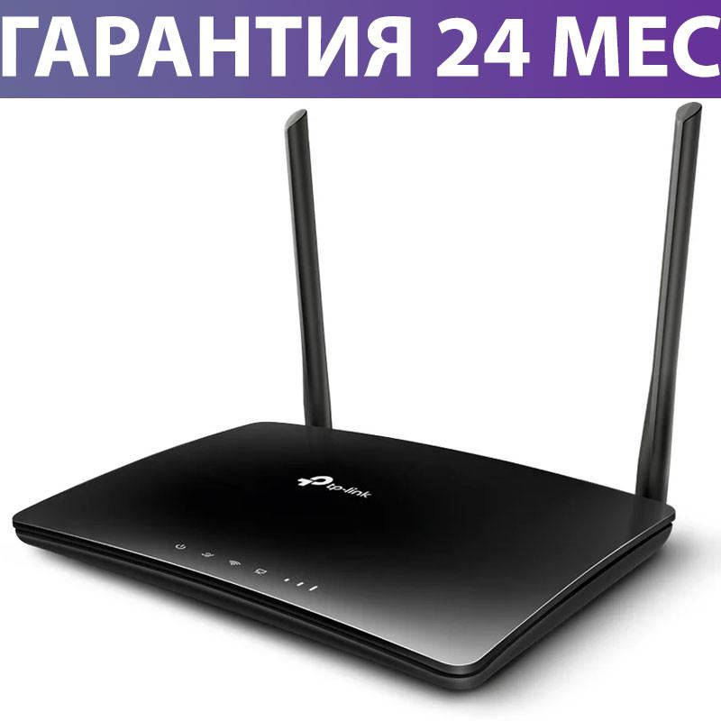 Wi-Fi роутер TP-LINK Archer MR200, поддержка 4G (разъем для сим-карты)