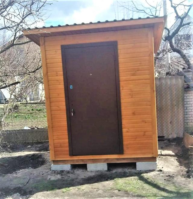 Деревянный хозблок бытовка от производителя в Киеве фото 2