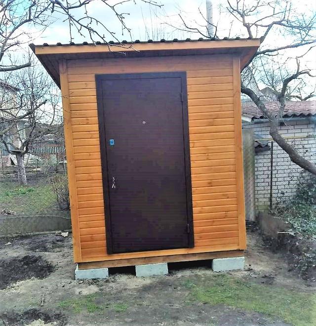 Деревянный хозблок бытовка от производителя в Киеве фото 4