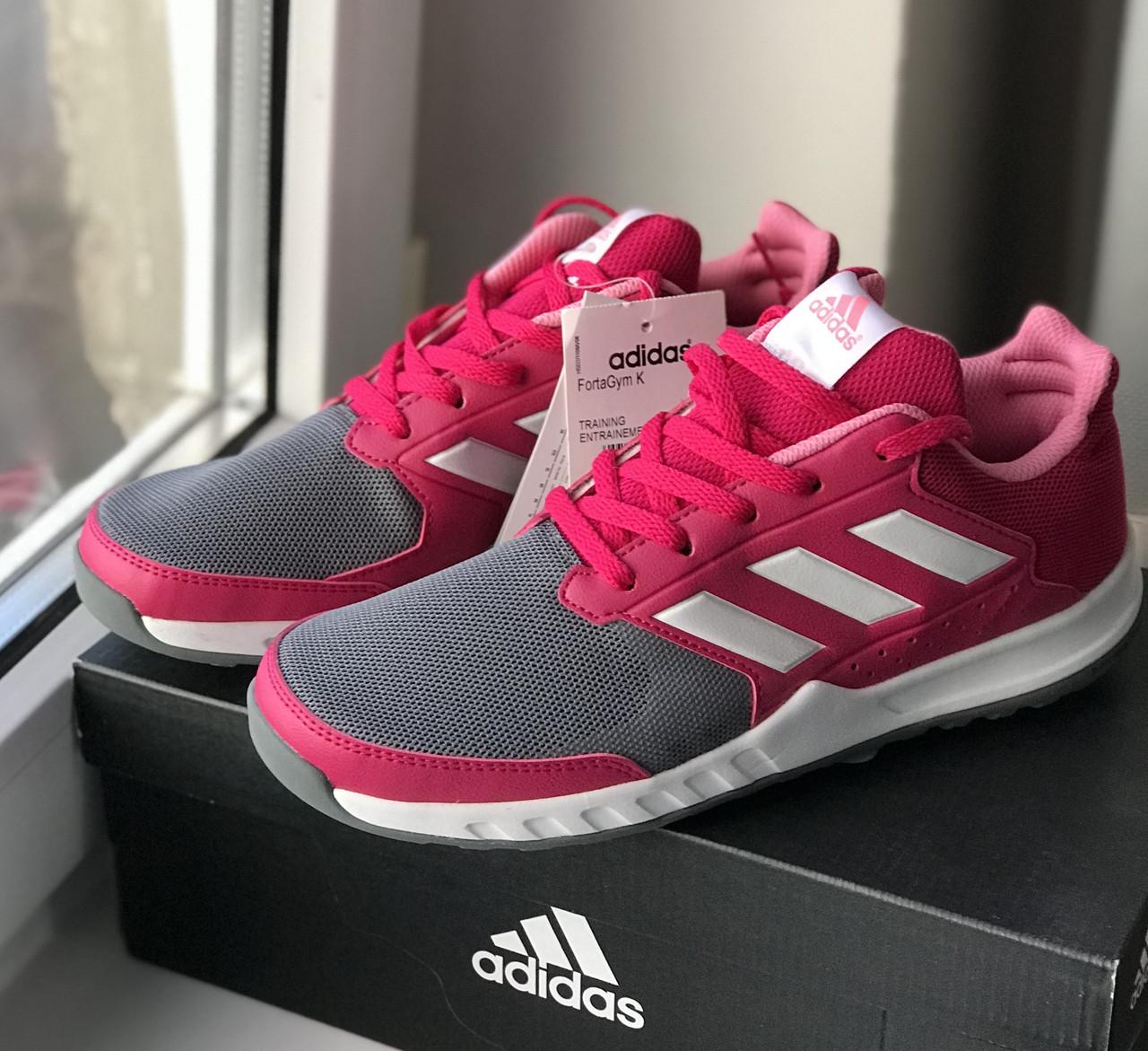 Детские кроссовки Адидас Оригинал Adidas Fortagym K Shoes
