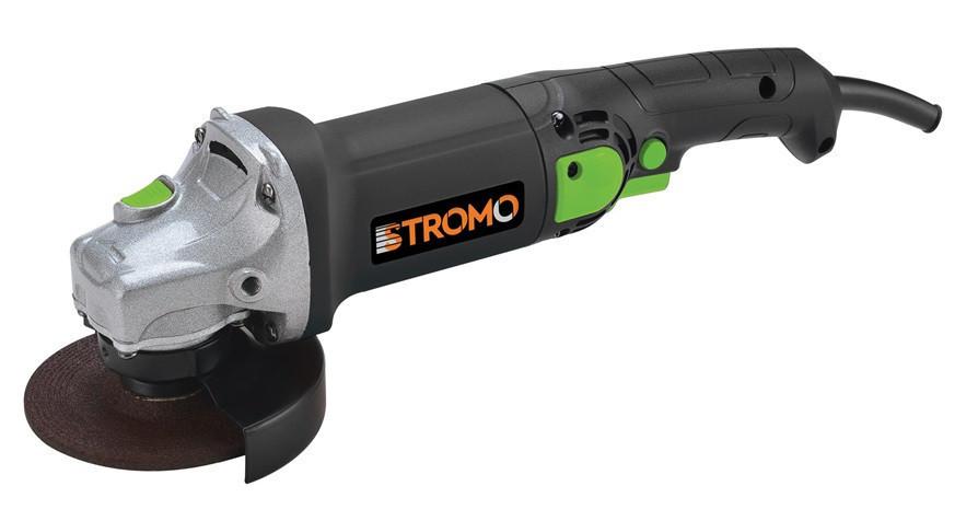 Болгарка Stromo SG -1200Е, 125 мм Регулировка оборотов . Угловая шлифмашина (УШМ). Стромо