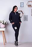 Спортивный костюм трикотаж ангора батник+штаны размер: от 48 до 62, фото 2