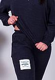 Спортивный костюм трикотаж ангора батник+штаны размер: от 48 до 62, фото 7