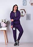 Спортивный костюм трикотаж ангора батник+штаны размер: от 48 до 62, фото 5