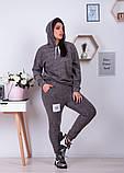 Спортивный костюм трикотаж ангора батник+штаны размер: от 48 до 62, фото 9
