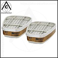 3M Комплект фильтров. A1 + держатель + P3R