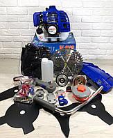 Бензокоса(мотокоса) Витязь БГ-4500 (5 ножей, 1 катушка)