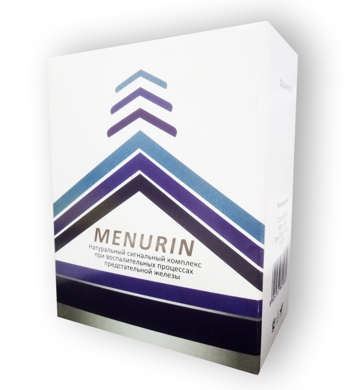 Менурин от простатита Menurin