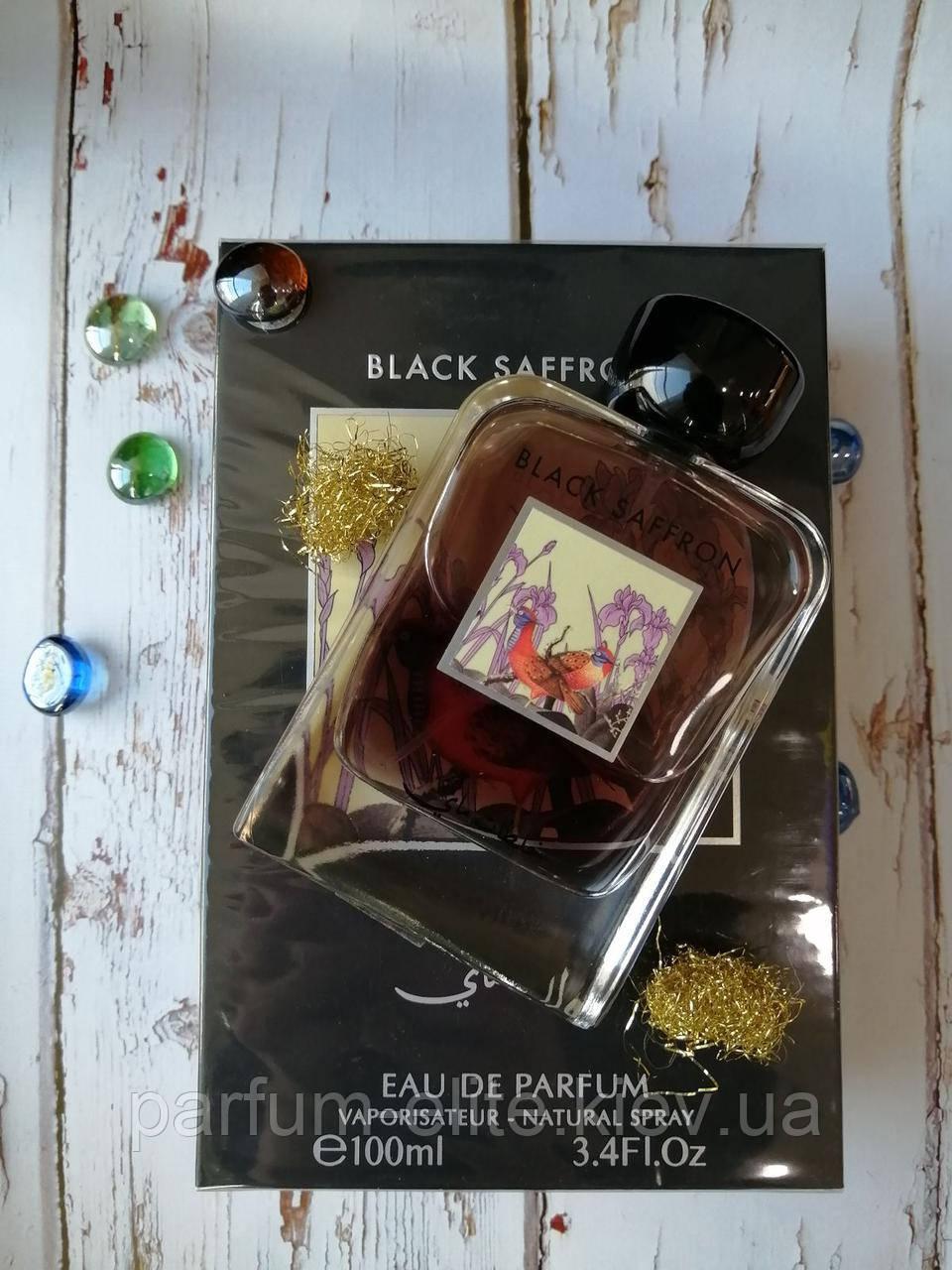 Мужская восточная парфюмированная вода My Perfumes Black Saffron 100ml