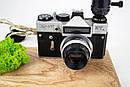 Настільна лампа Pride&Joy з вінтажним фотоаппаратом та мохом, фото 6