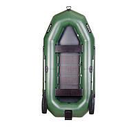 Трехместная гребная надувная лодка Bark (Барк) В-300N (с навесным транцем)